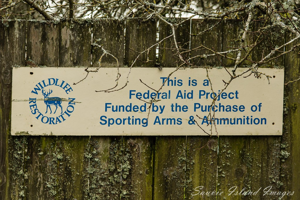 Wildlife Area Funding Sign-2540